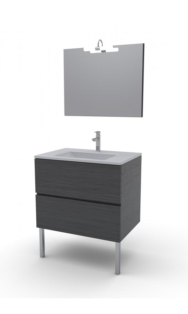Meubles de salle de bain lins chocos homebain vente for Meuble 70x30