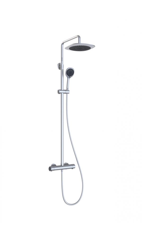 Colonne de douche shower set noir homebain vente en ligne colonnes de d - Colonne de douche noir ...