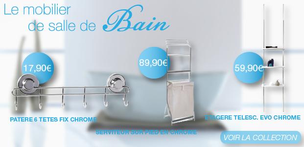 Accessoires salle de bain - Homebain : Spécialiste décoration de ...