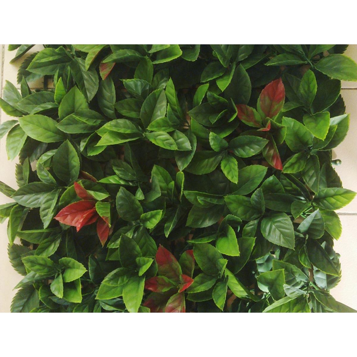 Plaque carrée red robin dentelé JET7GARDEN (Vert)
