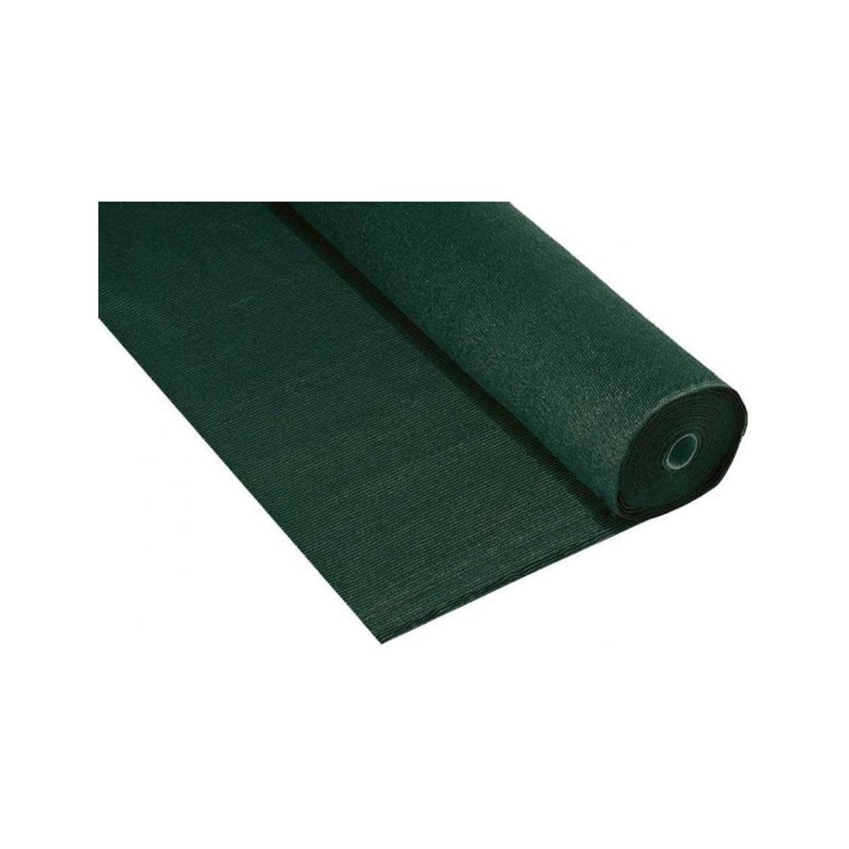 Brise vue en toile verte JET7GARDEN - Vert - 1 m 20 x 10 m