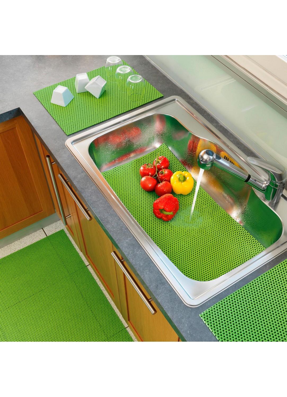 tapis multi usage en pvc uni anis rouge naturel. Black Bedroom Furniture Sets. Home Design Ideas