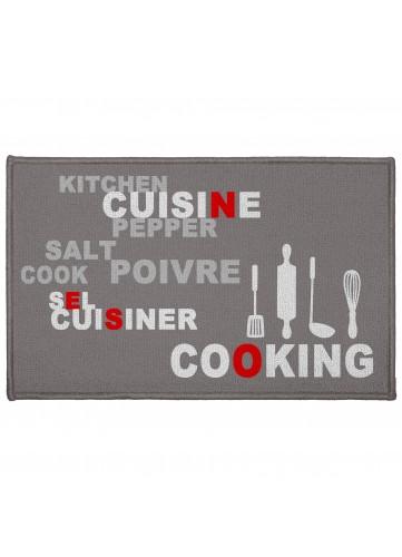 Tapis Rectangulaire en Polyamide Cooking - SANS - 50 x 80 cm