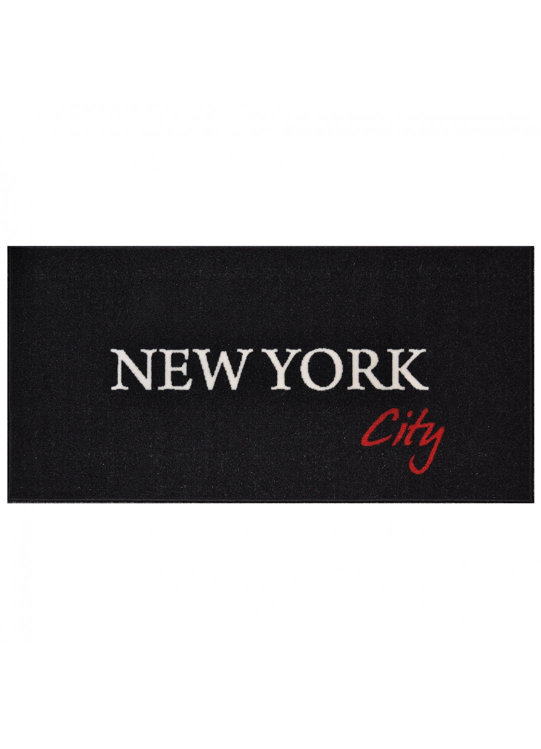 tapis rectangulaire en polyamide new york 57 x 115 cm tapis deco new york. Black Bedroom Furniture Sets. Home Design Ideas