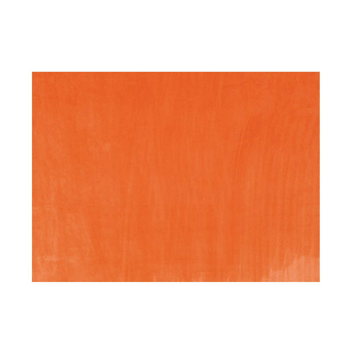 Tissu uni en 100% polyester - Orange Clair - 1.5 m