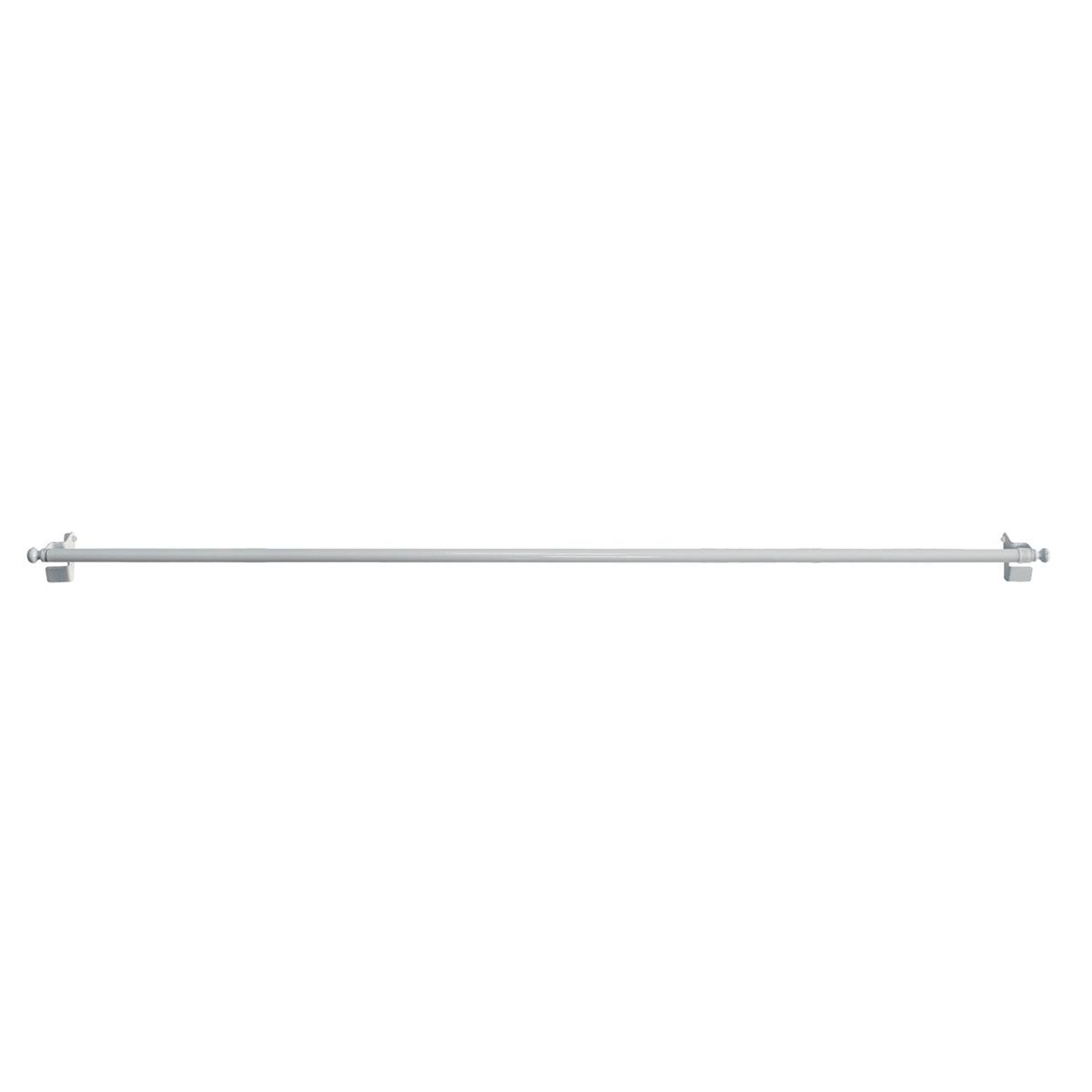 Tringle Extensible de 9 mm à Fixation Rapide  (Blanc)