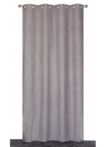 Rideau Coloré Isolant et Thermique - Gris - 140 x 240 cm