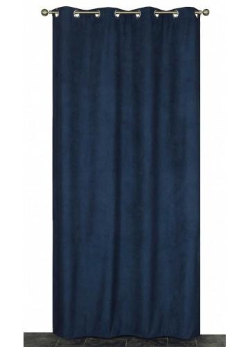 Rideau Coloré Isolant et Thermique - Pétrole - 140 x 240 cm