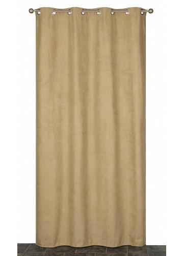 Rideau Coloré Isolant et Thermique - Taupe - 140 x 240 cm
