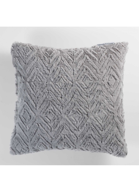 coussin imitation fourrure relief e gris navy naturel homemaison vente en ligne. Black Bedroom Furniture Sets. Home Design Ideas