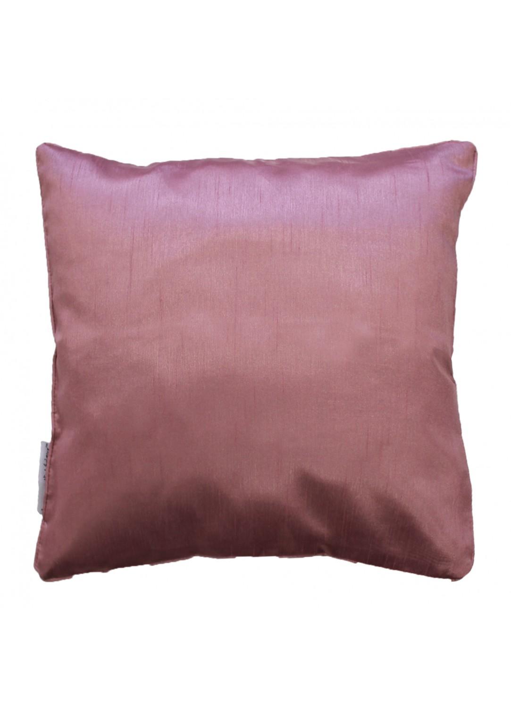 housse de coussin en shantung uni rose fuchsia perle moutarde noir bleu lin. Black Bedroom Furniture Sets. Home Design Ideas