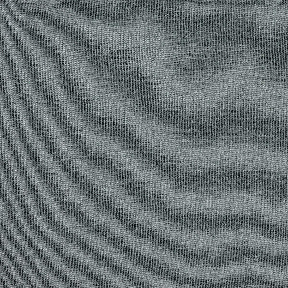 Tissu en coton et chanvre - Gris Foncé - 1.4 m