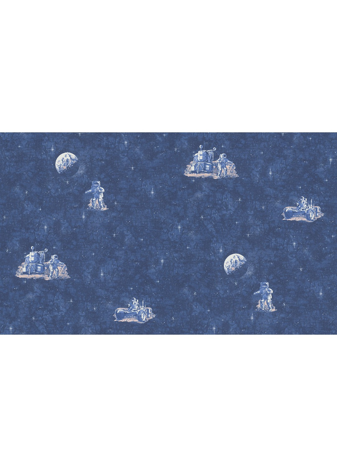 papier peint astronaute bleu bleu homemaison vente en ligne papiers peints. Black Bedroom Furniture Sets. Home Design Ideas