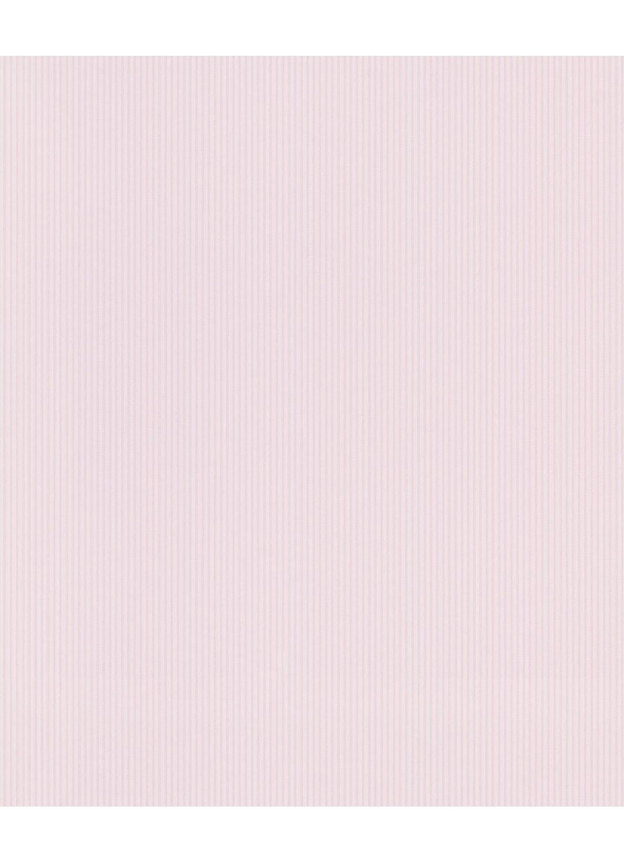 Papier Peint Uni A Fines Rayures Rose Bleu Turquoise Beige