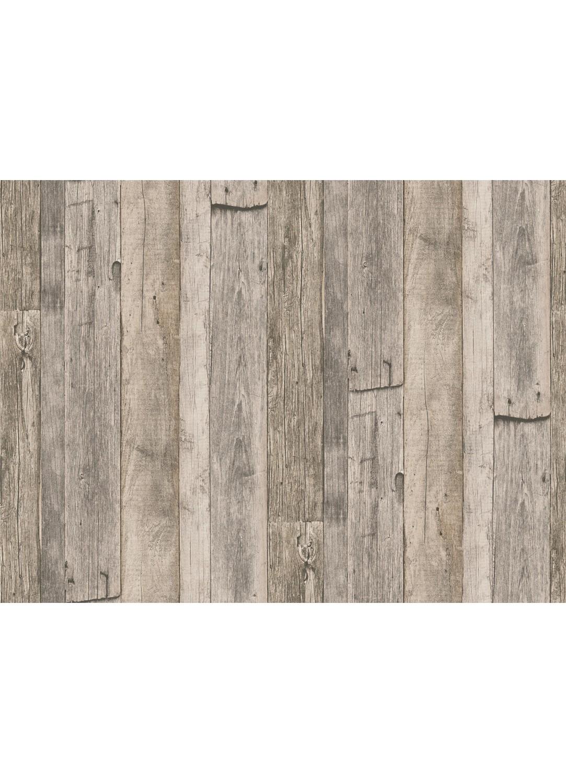 papier peint imitation planches clout es naturel beige gris homemaison vente en. Black Bedroom Furniture Sets. Home Design Ideas
