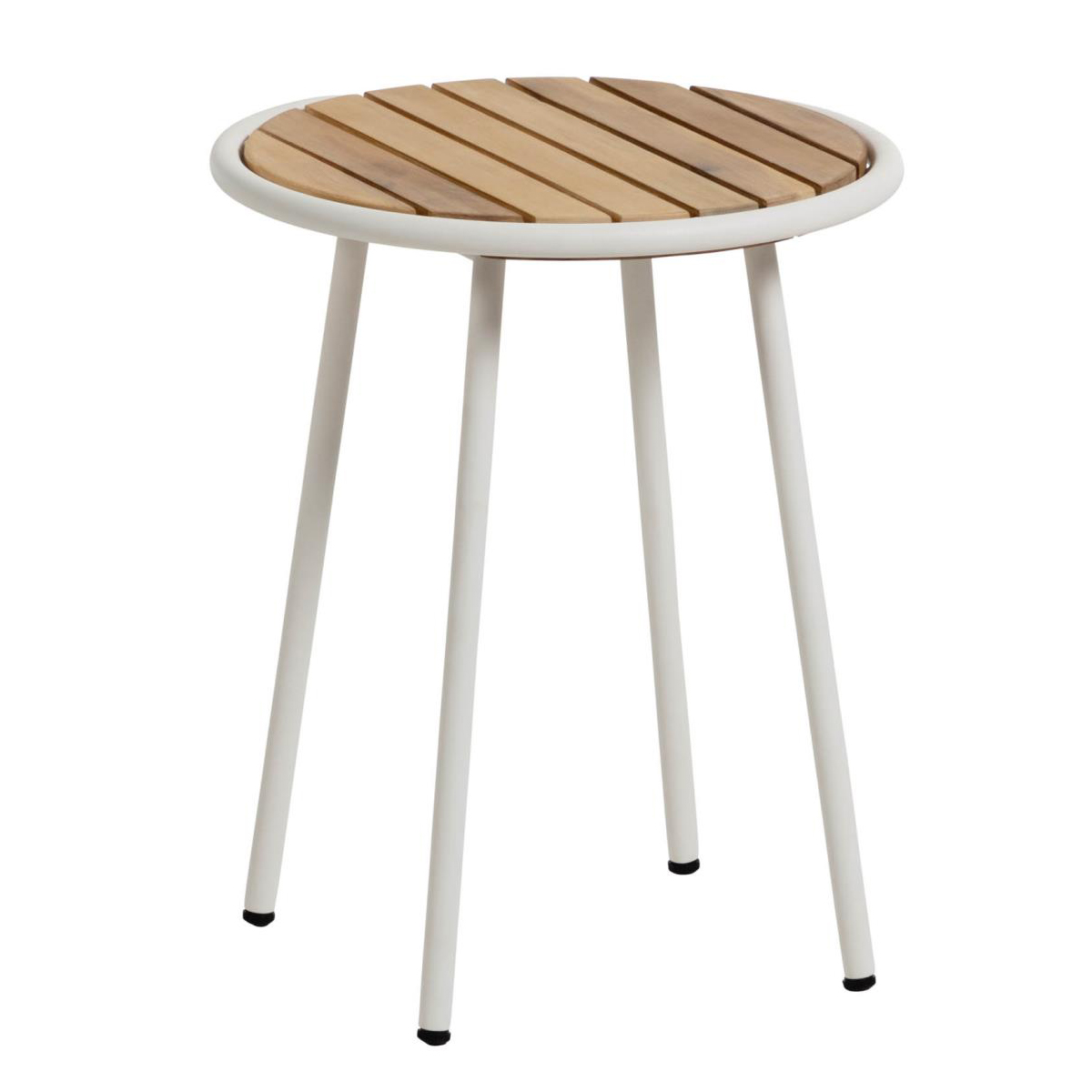 Table en lattes d'acacia massif (Bois)