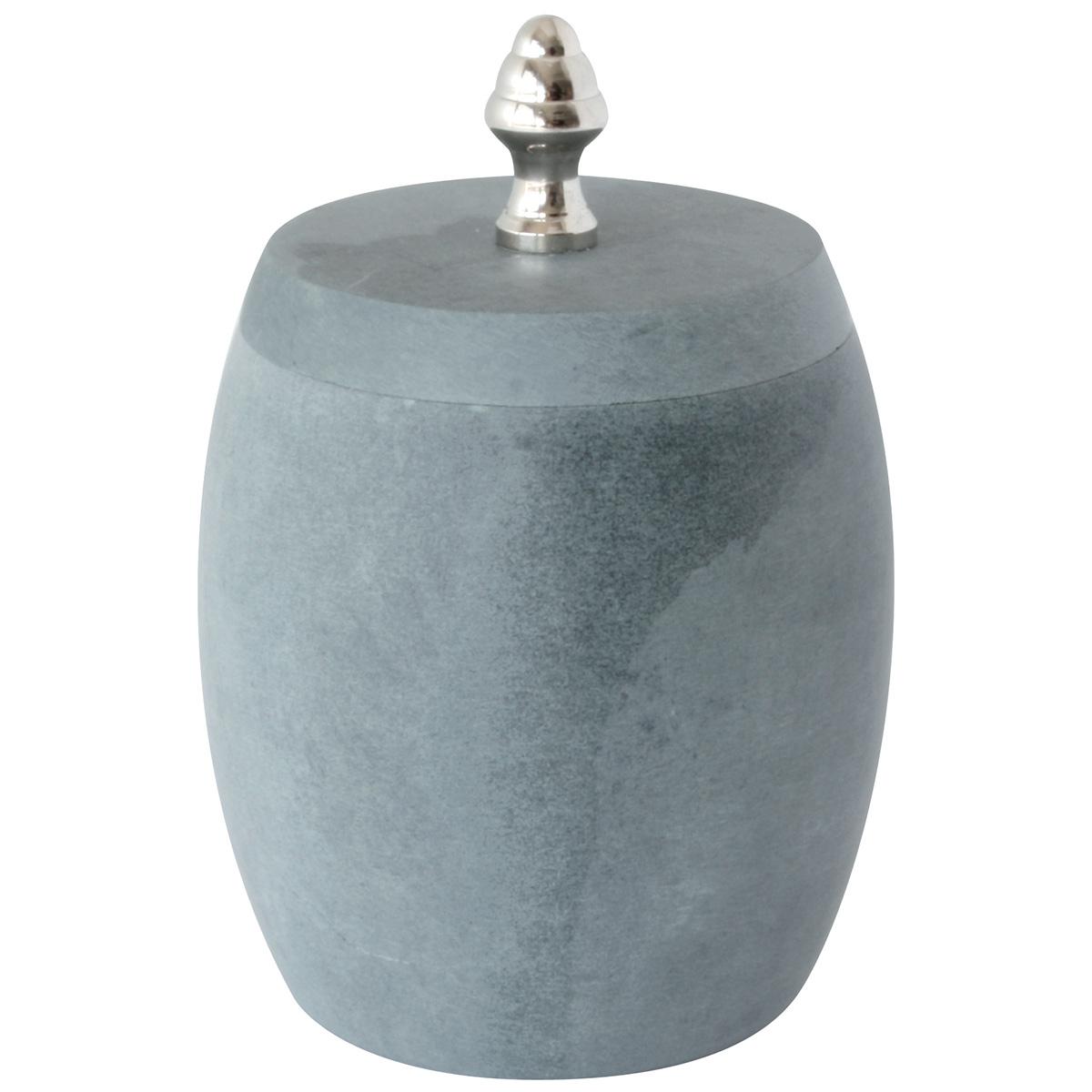 Boite à Coton 'Stone' (Gris)