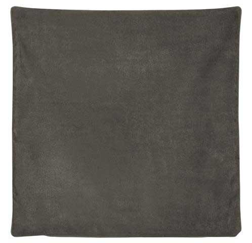 Housse de Coussin Effet Satiné - Gris anthracite - 45 x 45 cm