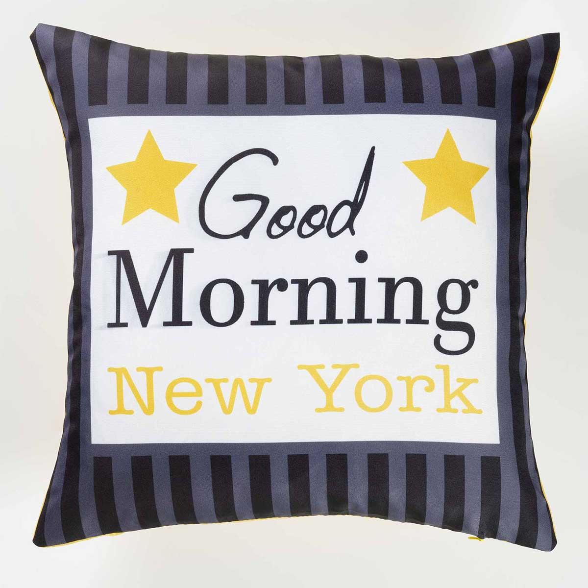 Housse de Coussin \'New York\' (Multicolore)