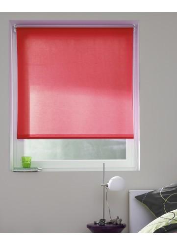 Store Enrouleur Tamisant aux Multiples Couleurs Différentes - Rouge - 60 x 190 cm