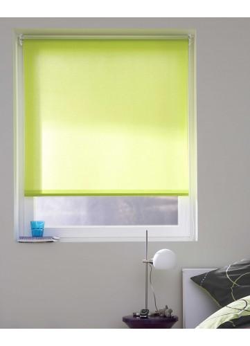Store Enrouleur Tamisant aux Multiples Couleurs Différentes - Vert - 90 x 190 cm