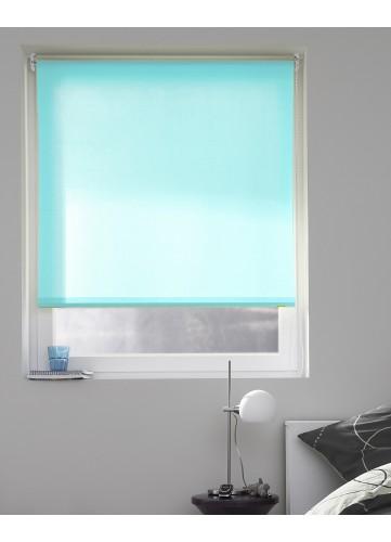 Store Enrouleur Tamisant aux Multiples Couleurs Différentes - Turquoise - 60 x 190 cm