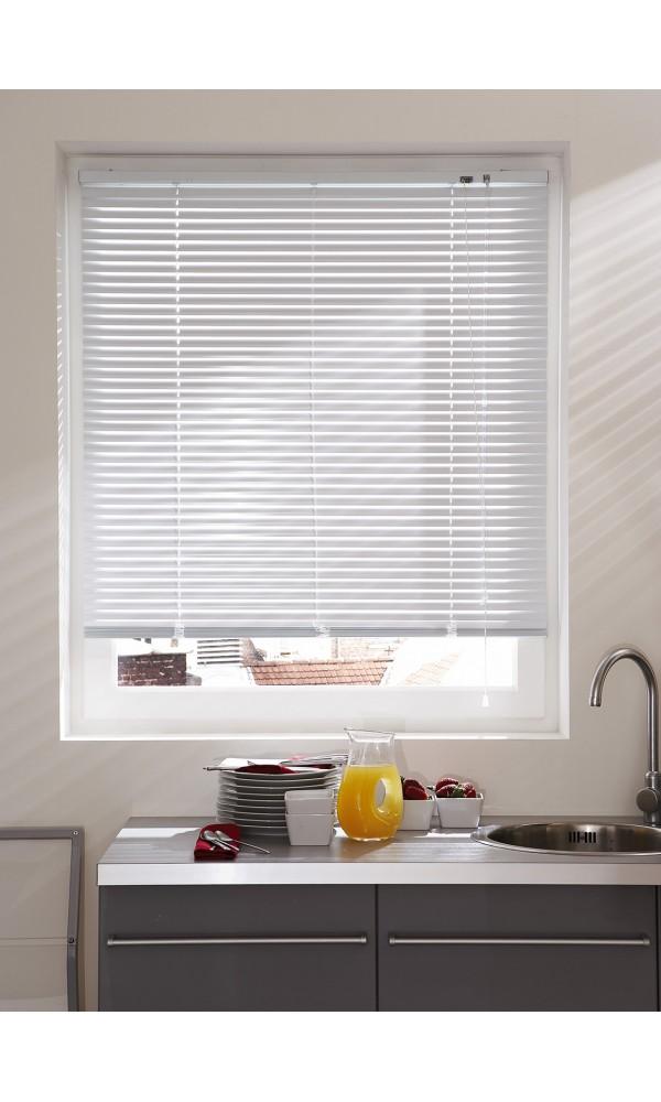 Store Vénitien en Aluminium - Blanc - 45 x 130 cm