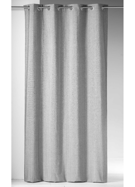 Cortina tejida hilos met licos gris blanco cortina casa venta en l nea de todas las - Cortinas metalicas decorativas ...