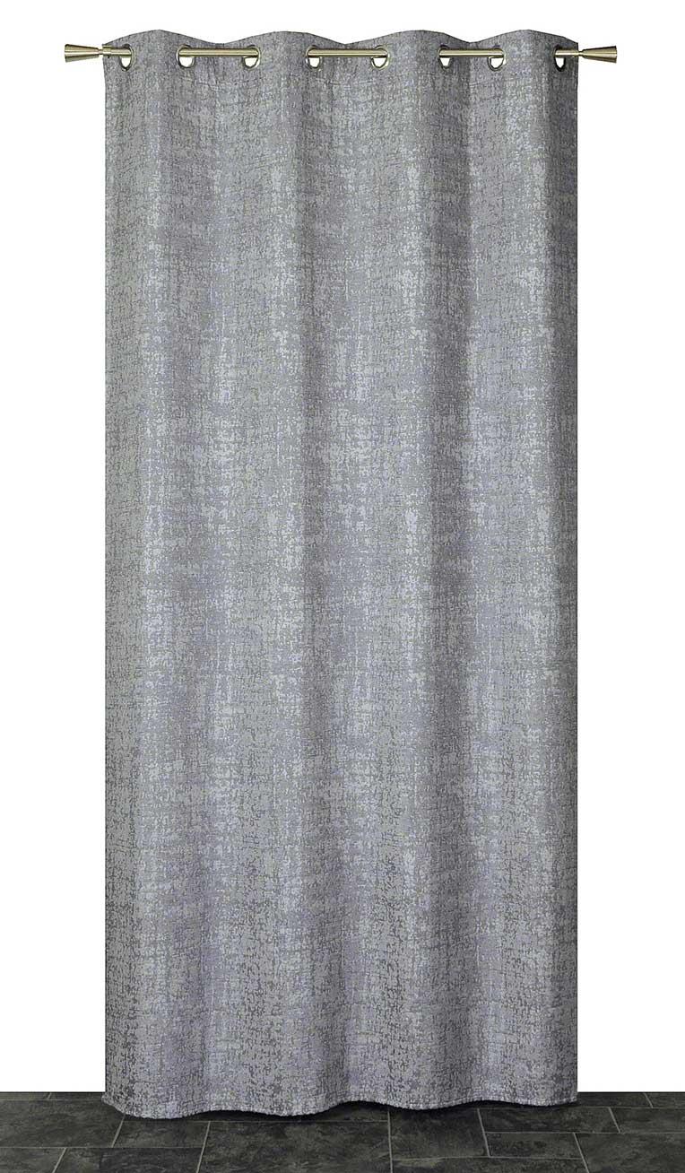 rideau velours effet craquel gris rouge taupe homemaison vente en ligne rideaux. Black Bedroom Furniture Sets. Home Design Ideas