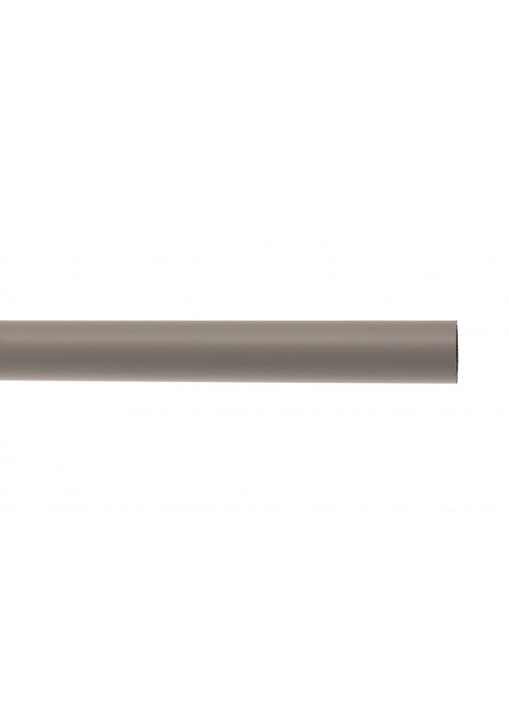 barre de rideau 16 mm gris homemaison vente en ligne tube. Black Bedroom Furniture Sets. Home Design Ideas