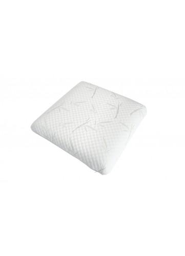 Oreiller à Mémoire de Forme - Blanc - 60 x 60 cm