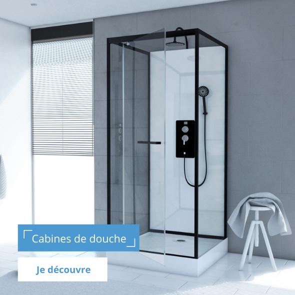 Cabines de douches modernes