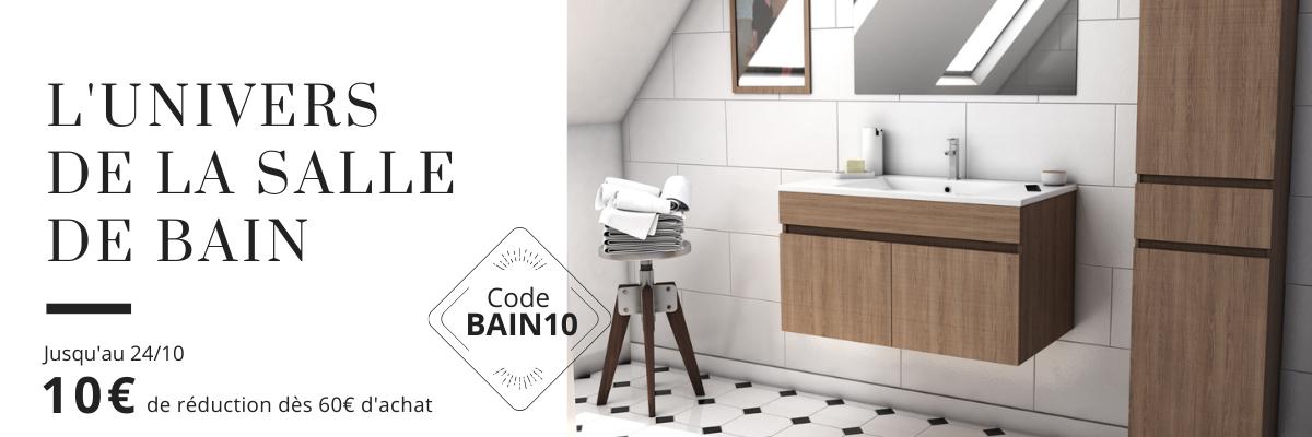 Accessoires pour salles de bain et WC