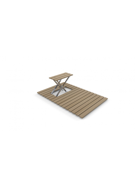 caillebotis bambou douche. Black Bedroom Furniture Sets. Home Design Ideas