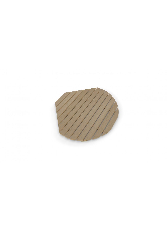caillebotis en bambou composite pour cabine 1 4 de cercle marron homebain vente en ligne. Black Bedroom Furniture Sets. Home Design Ideas