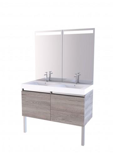 Miroir salle de bain vintage chaioscom for Meuble salle de bain ampm