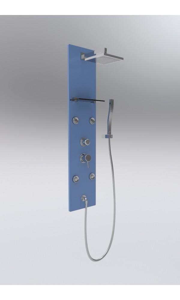 colonnes de douche bleus homebain vente colonnes de douche bleus pas cher. Black Bedroom Furniture Sets. Home Design Ideas