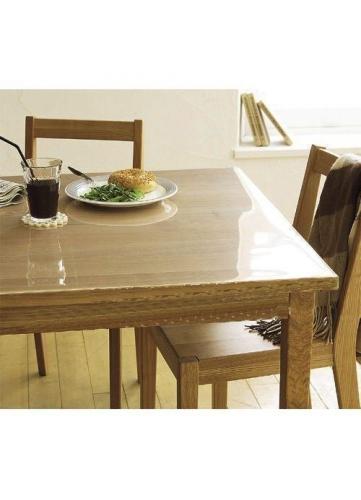 Prot ge table transparent transparent homemaison - Protege table rectangulaire ...