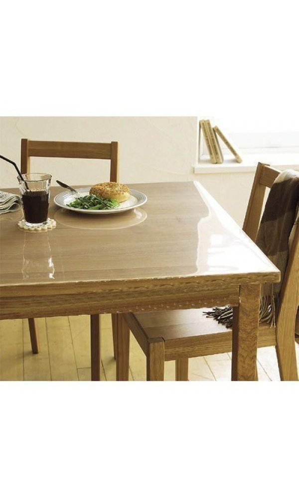 Prot ge table transparent transparent homemaison vente en ligne prot ge table - Protege table transparent epais ...