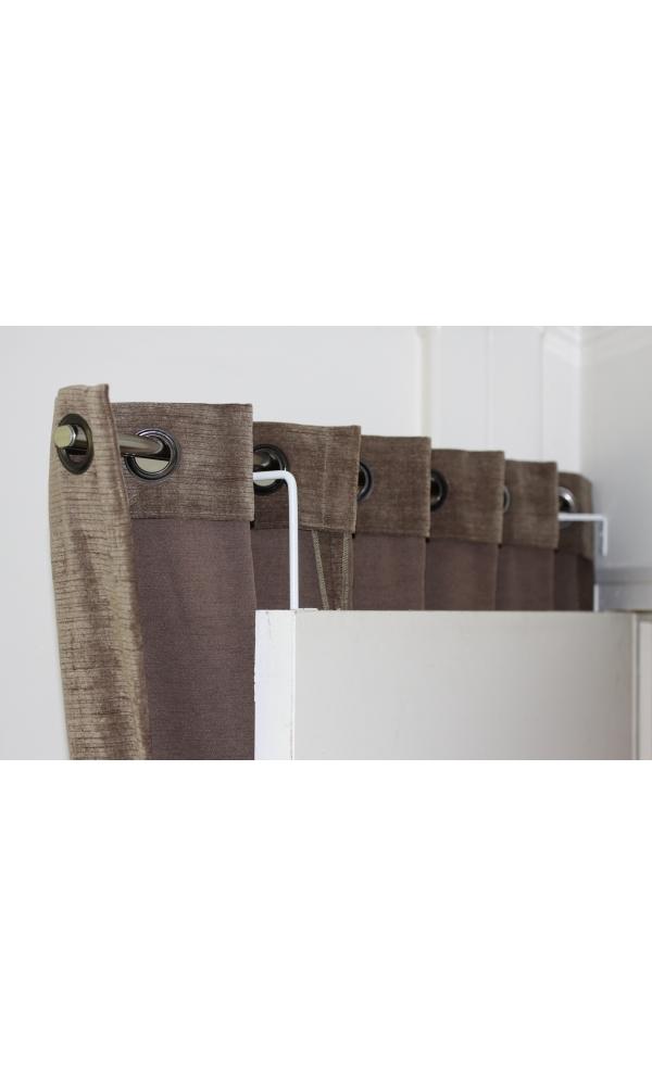 Tringles gris noirs homemaison vente en ligne de - Taille standard porte d entree ...