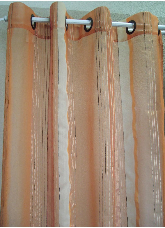 Visillo Organza Fantasía finas rayas verticales (Mango)