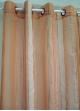 Voilage Organza Fantaisie fines rayures verticales Mangue