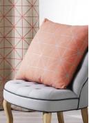 Coussin en Toile de Coton Imprimée Design