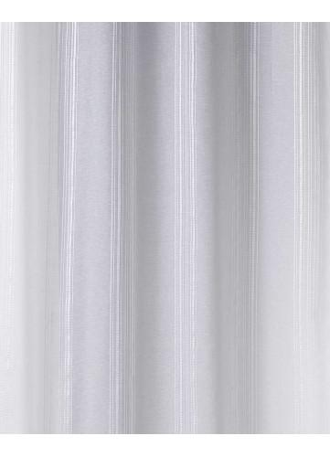 Tissu en Etamine à Fines Rayures Verticales