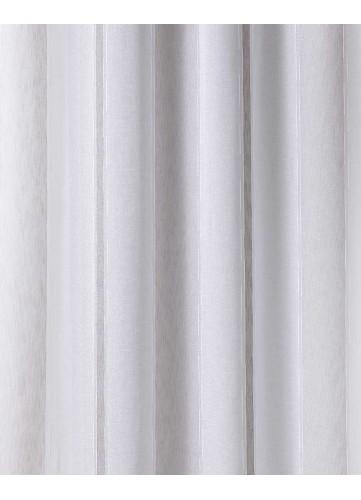 Tissu en Etamine à Rayures Verticales Discrètes