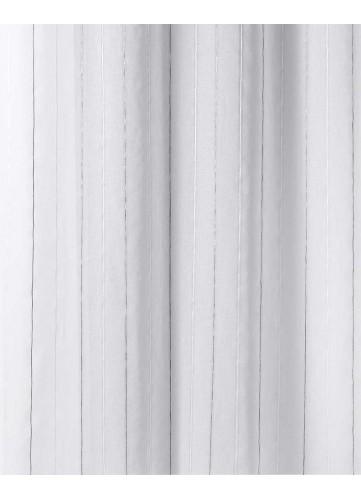 Tissu en Etamine à Rayures Verticales Brillantes
