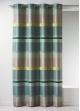 Rideau Bouchara en jacquard à rayures horizontales design  Bambou
