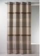 Rideau Bouchara en jacquard à rayures horizontales design  Lin