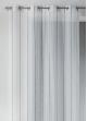 Voilage effet laine à rayures verticales  Gris