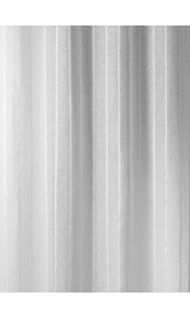 Tissu en Etamine Lin à Rayures Verticales
